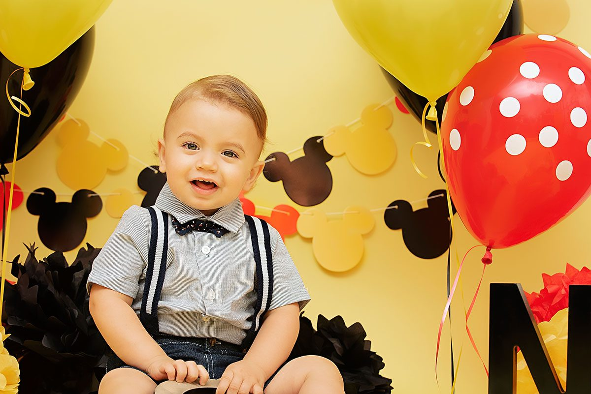 Birthday One Year Sessions in Greenville SC Photographer