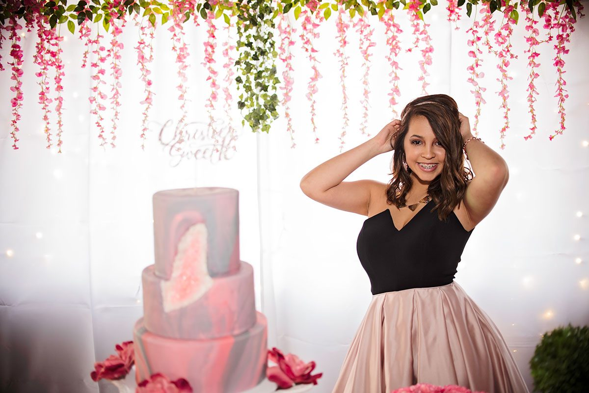 Prom Quinceañera Senior Christie in Greenville SC Photographer