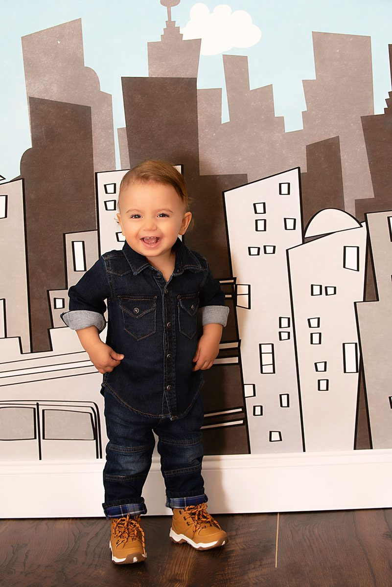 Cake Smash Birthday One Year Sessions Greenville SC Photographer
