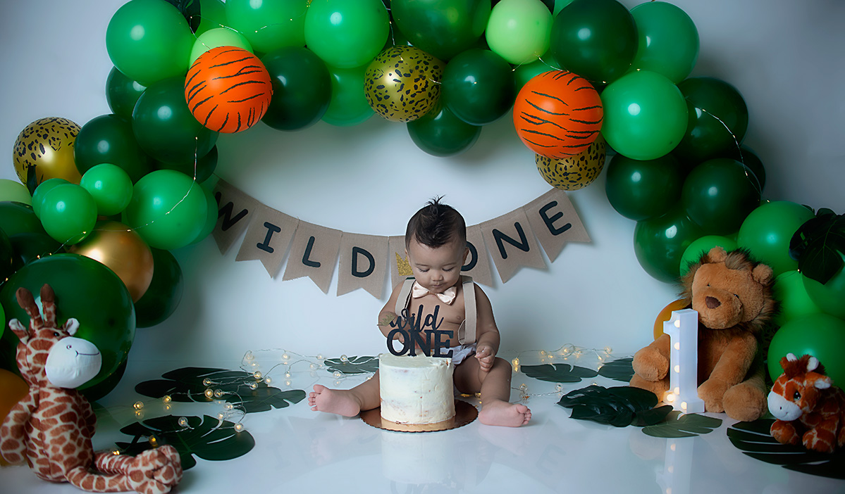 Anderson Cake Smash Session in Greenville SC Photography