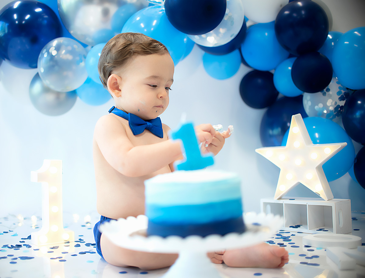 Arthur Cake Smash Session in Greenville SC Photography